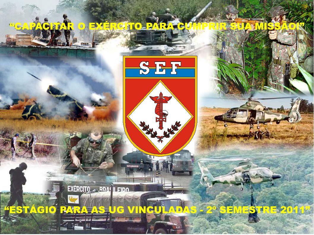 A experiência no órgão Comando do Exército