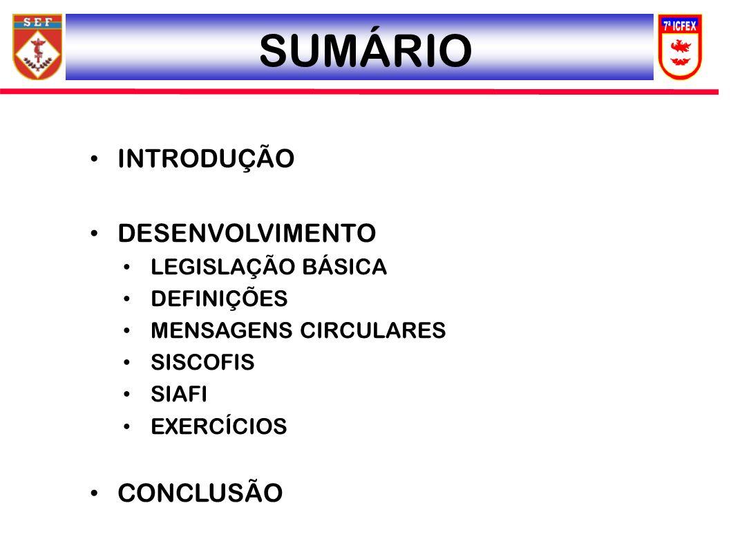 MENSAGENS CIRCULARES MSG SIAFI 2011/0587567, 11 ABR 11, MSG CIRCULAR 026/2011: PARAMETRIZAÇÃO NÍVEL FICHA 1º - MATERIAL PERMANENTE5 - FILTRAR 2- DEPRECIAÇÃO DE BENS MÓVEIS 6 - SELECIONAR A FICHA DESEJADA 3 - PARAMETRIZAÇÃO NÍVEL FICHA 7 – PARAMETRIZAÇÃO CON- FORME TABELA DA D CONT 4 - SELECIONAR A CONTA DESEJADA 8 - EXECUTAR