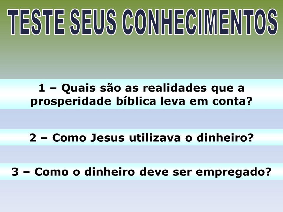 2.1 – Pobreza e pecado: A pobreza é sim consequência do pecado original.