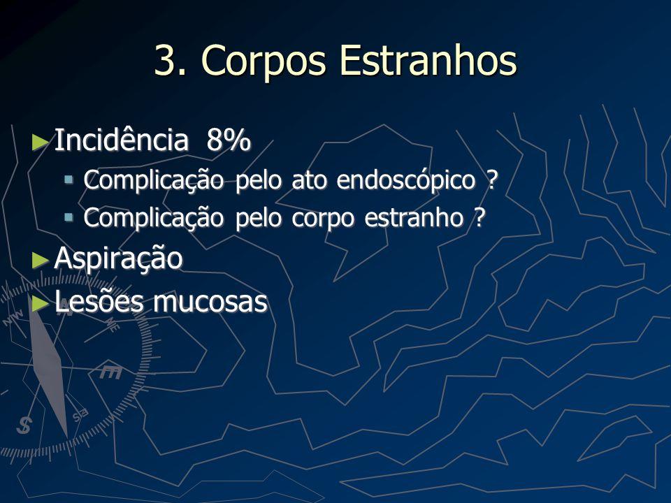 Corpos Estranhos Estratégias Estratégias Overtubes Overtubes Solução .