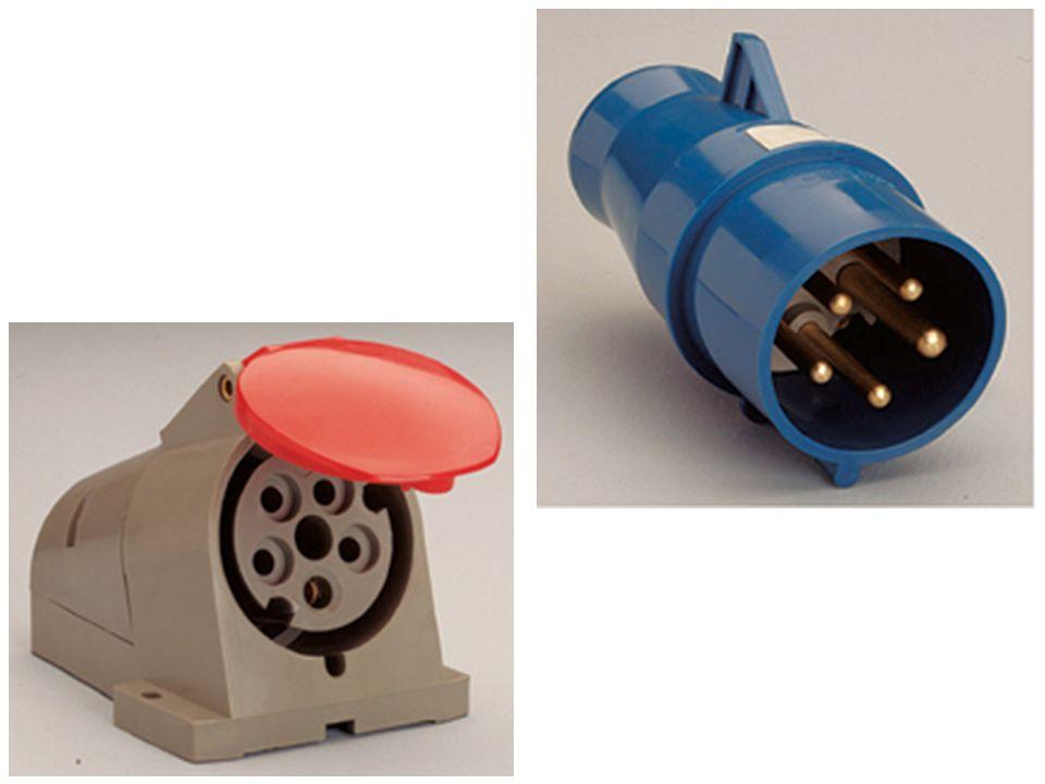 PLUGS E TOMADAS Protegidas contra penetração de umidade ou água É obrigatório o uso para ligação dos equipamentos elétricos ao circuito de alimentação