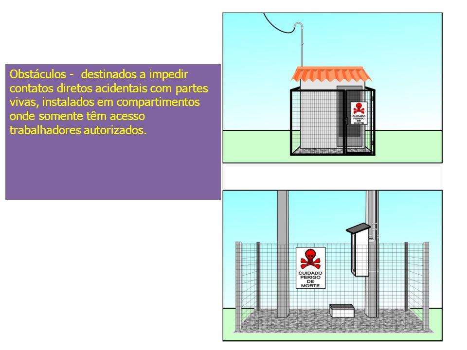 A Colocação desse tipo de proteção deve ser executada pela concessionária local ou empresa autorizada.