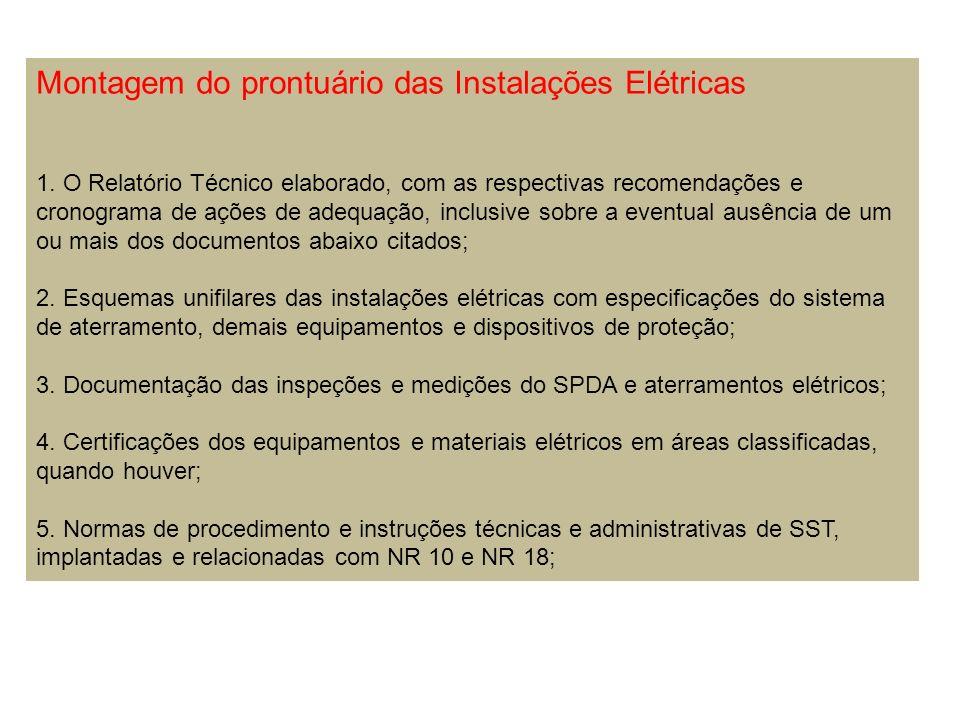 LAUDO TÉCNICO DO SPDA O Laudo de inspeção do Sistema de Proteção contra Descargas Atmosféricas – Documento técnico das inspeções e medições realizadas