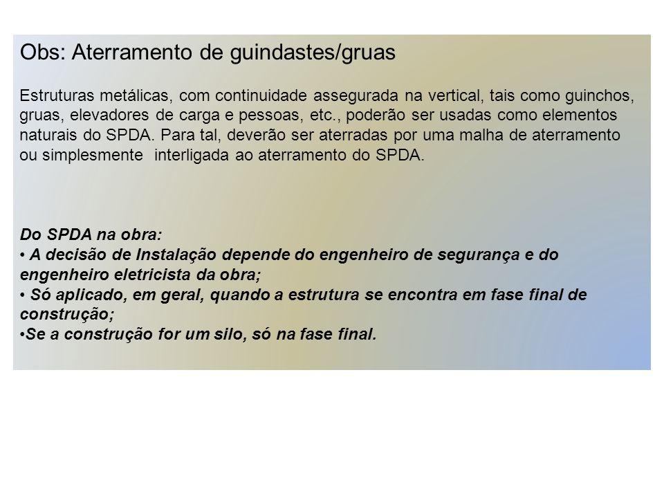 Exemplo: Estudo realizado de Ensaio de continuidade elétrica em estrutura de concreto armado de um edifício em construção, conforme o Anexo E da ABNT