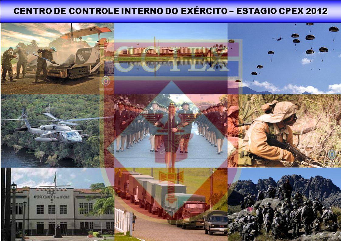 2012 CENTRO DE CONTROLE INTERNO DO EXÉRCITO – ESTAGIO CPEX 2012