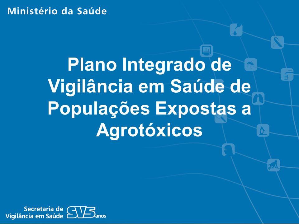 Plano Integrado de Vigilância em Saúde de Populações Expostas a Agrotóxicos