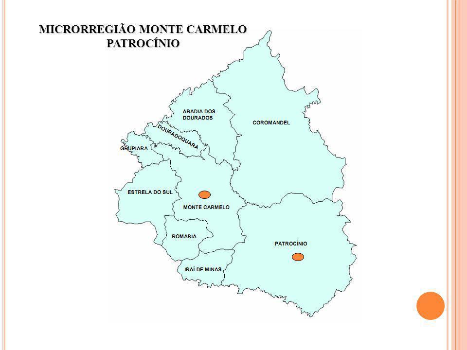 MICRORREGIÃO MONTE CARMELO PATROCÍNIO