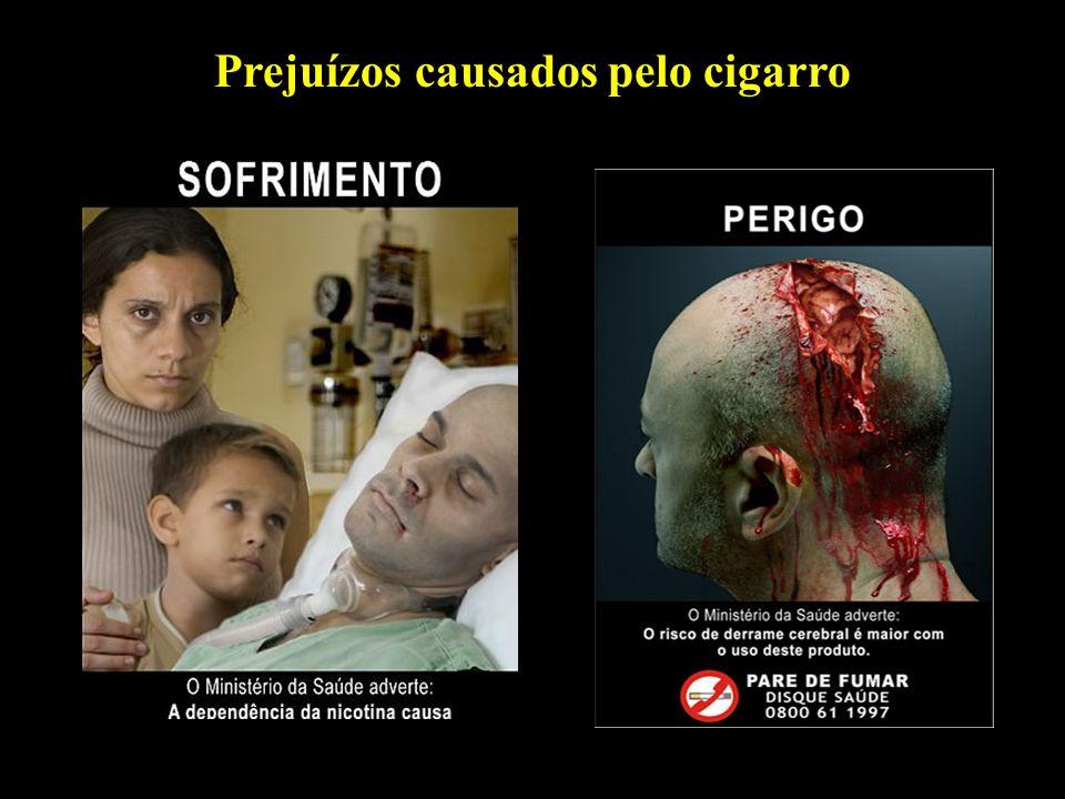 Professor: Deiber Prejuízos causados pelo cigarro