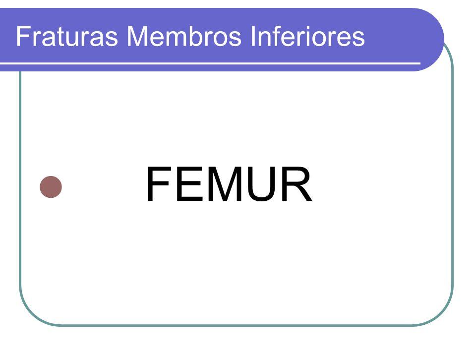 Fraturas Membros Inferiores FEMUR