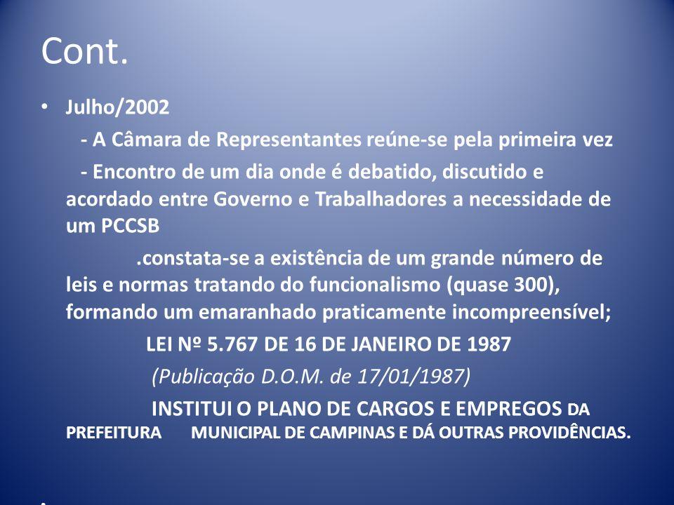 CONT TÍTULO V III – DA REMUNERAÇÃO E DA JORNADA DE TRABALHO CAPÍTULO I – DA JORNADA DE TRABALHO SEÇÃO I – DAS DISPOSIÇÕES GERAIS SEÇÃO II – DA JORNADA DE TRABALHO DOS PROFESSORES SEÇÃO III – DA JORNADA DE TRABALHO DOS ESPECIALISTAS EM EDUCAÇÃO E DOS PROFISSIONAIS DE EDUCAÇÃO INFANTIL SEÇÃO IV – DA JORNADA DE TRABALHO DOS OCUPANTES DO CARGO DE MÉDICO OU DENTISTA SEÇÃO V – DA ALTERAÇÃO DA JORNADA DE TRABALHO CAPÍTULO II – DA FORMA DE COMPOSIÇÃO DA REMUNERAÇÃO SEÇÃO I – DAS DISPOSIÇÕES GERAIS SEÇÃO II – DA REMUNERAÇÃO PROPORCIONAL DAS JORNADAS DE TRABALHO ESPECIAIS CAPÍTULO III – DO CONSELHO DE POLÍTICA DE ADMINISTRAÇÃO E REMUNERAÇÃO DE PESSOAL
