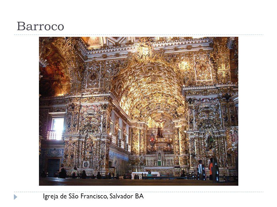 Barroco Igreja de São Francisco, Salvador BA