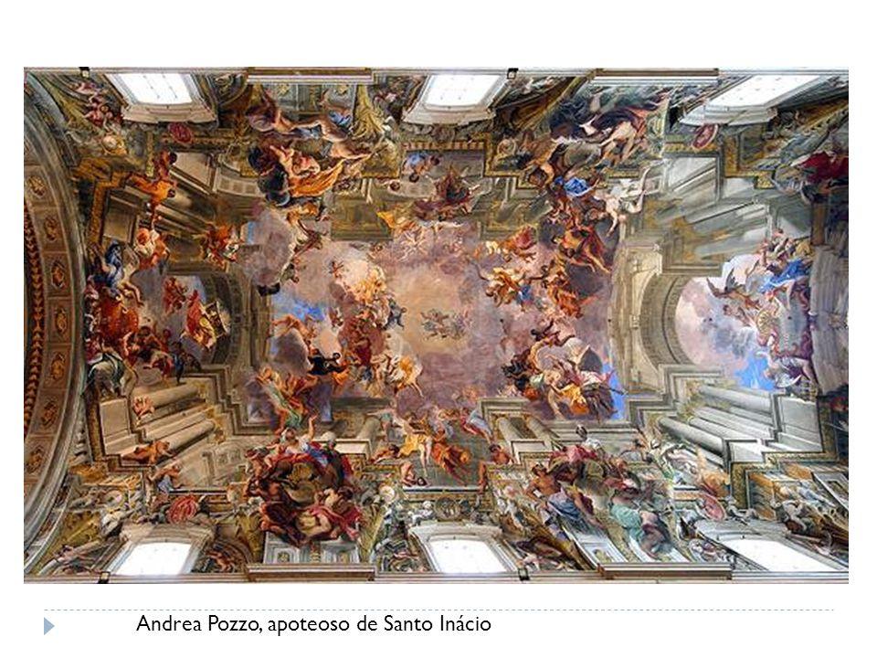 Barroco Andrea Pozzo, apoteoso de Santo Inácio