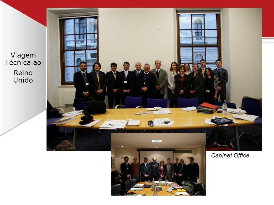 Viagem Técnica ao Reino Unido Cabinet Office