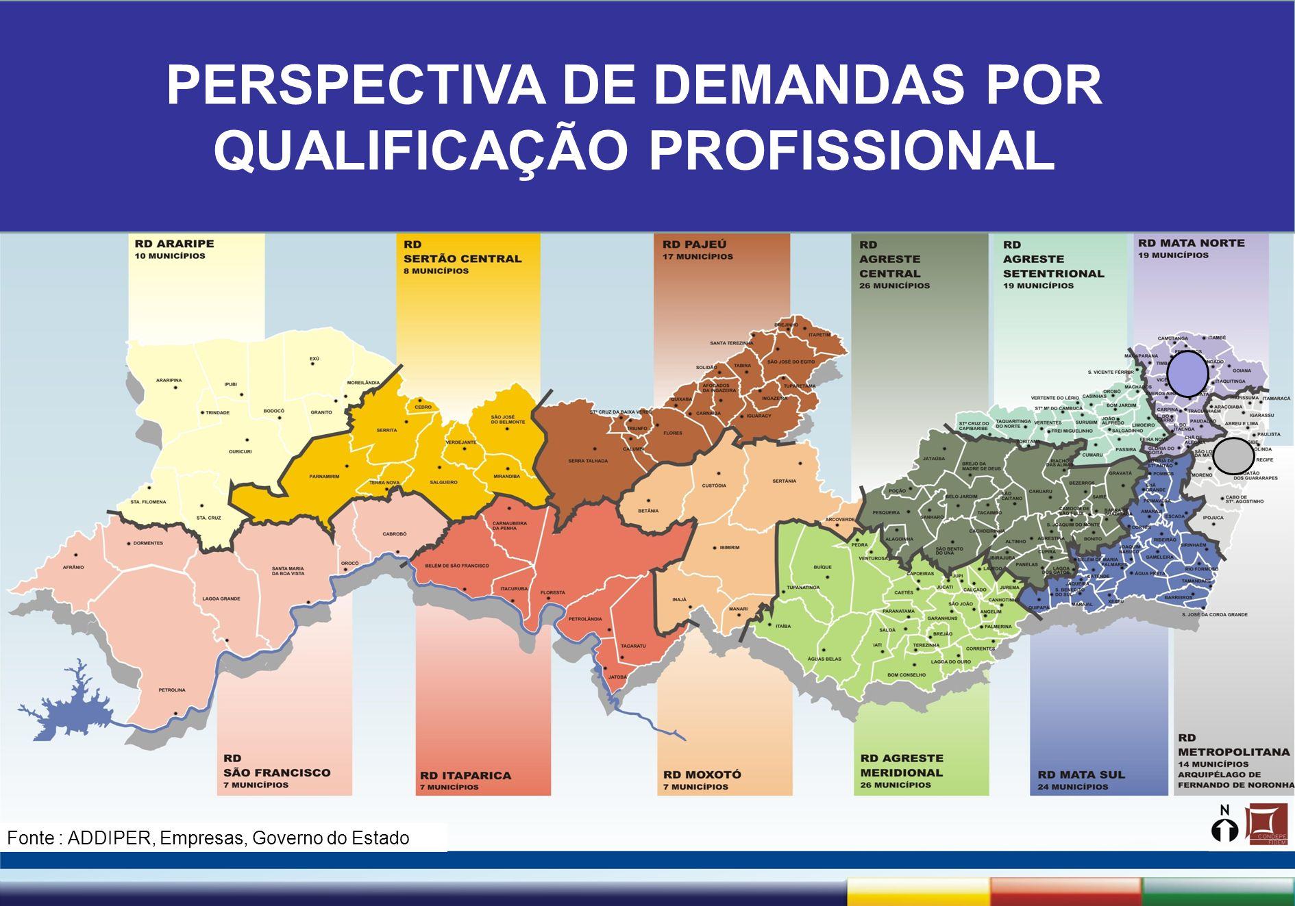 1ª Reunião de Monitoramento 2009 – 31/03/09 Secretaria de Trabalho, Qualificação e Empreendedorismo PERSPECTIVA DE DEMANDAS POR QUALIFICAÇÃO PROFISSIO