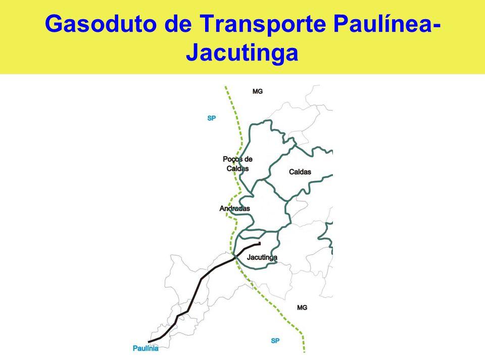 Gasoduto de Transporte Paulínea- Jacutinga