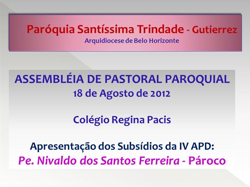 Como conclusão da Pesquisa Valores e Religião nos municípios da Arquidiocese de Belo Horizonte, alguns Recados para a Igreja Católica