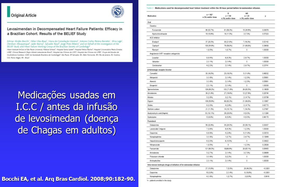 Bocchi EA, et al.Arq Bras Cardiol. 2008;90:182-90.