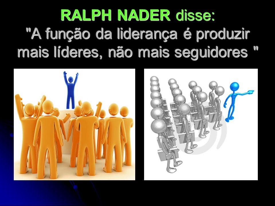 RALPH NADER disse:
