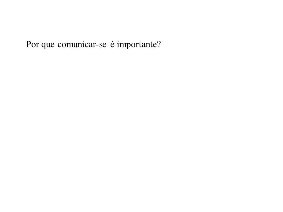 Por que comunicar-se é importante?