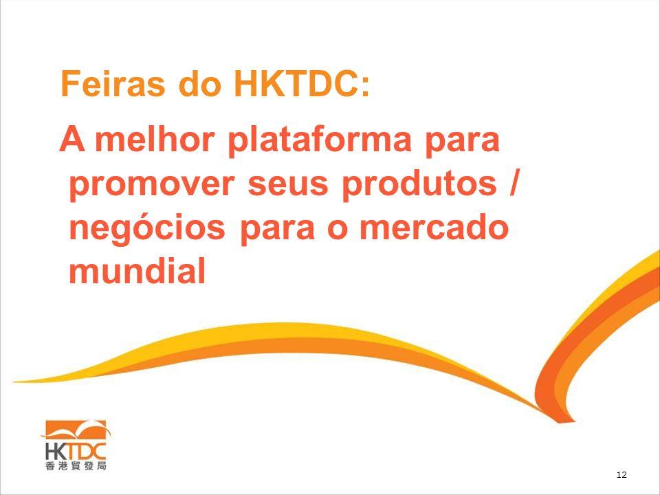 12 Feiras do HKTDC: A melhor plataforma para promover seus produtos / negócios para o mercado mundial