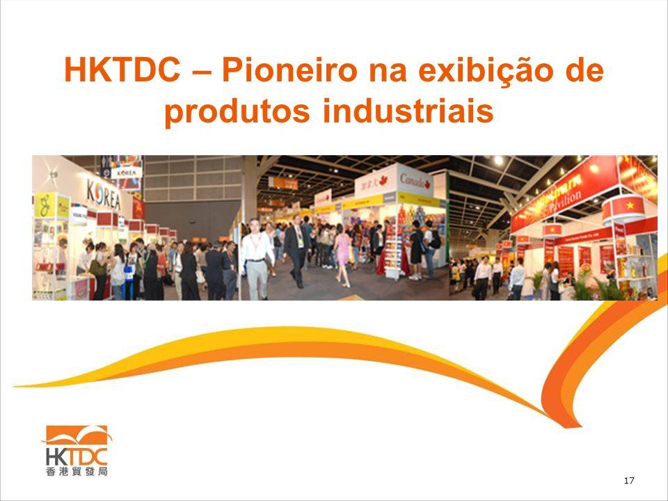 17 HKTDC – Pioneiro na exibição de produtos industriais