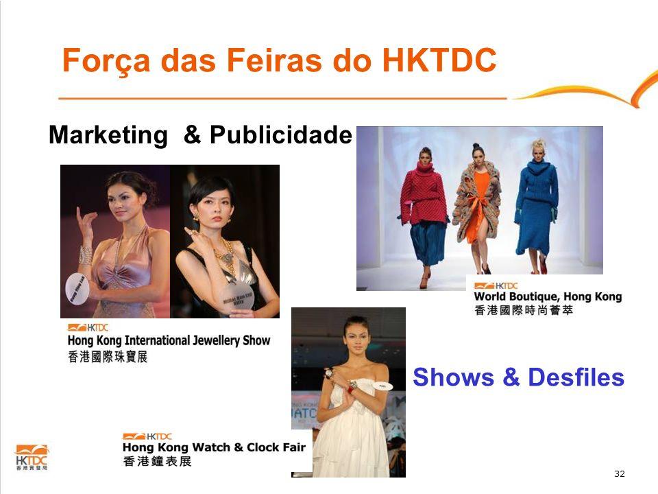 32 Força das Feiras do HKTDC Marketing & Publicidade Shows & Desfiles