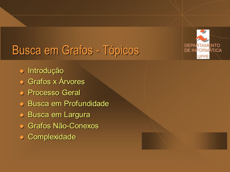 Seminário sobre Busca em Grafos.................................................... Antonio Dirceu Rabelo de Vasconcelos Filho Roberta Beltrão Correia