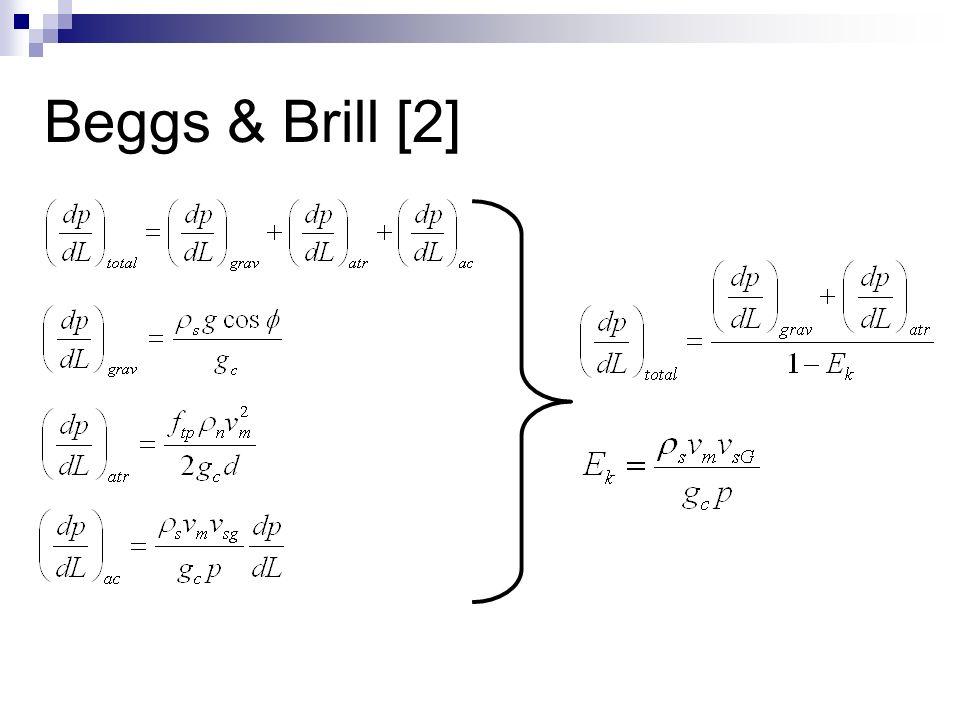 Beggs & Brill [2]