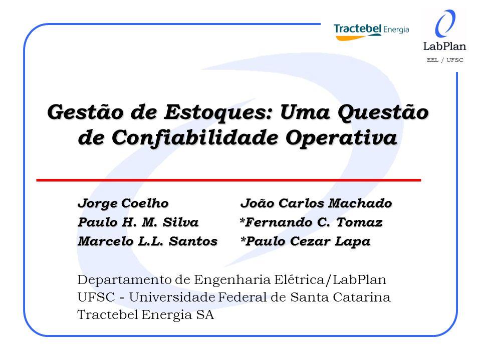EEL / UFSC Jorge Coelho João Carlos Machado Paulo H. M. Silva *Fernando C. Tomaz Marcelo L.L. Santos *Paulo Cezar Lapa Departamento de Engenharia Elét