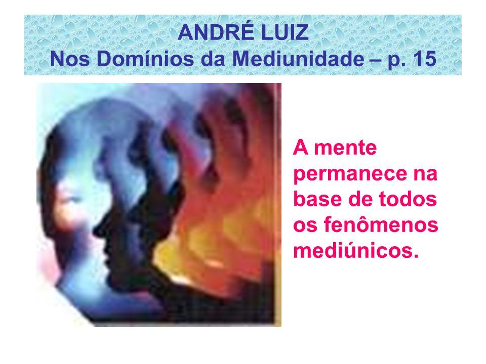 ANDRÉ LUIZ Nos Domínios da Mediunidade – p.