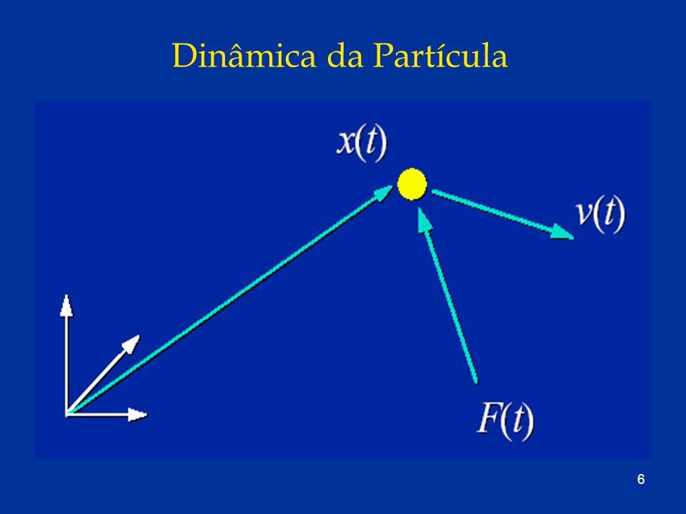 57 Quaternions x Matrix de Rotações A matriz de quaternions é um tipo que comporta apenas 4 elementos; Evita-se o uso da matriz de rotação devido a maior propagação de erros numéricos (drift); Visualmente percebe-se um efeito de deslizamento; e Enquanto a matriz de rotação faz uso de nove parâmetros para descrever três graus de liberdade, os quaternions utilizam quatro parâmetros com um único descrevendo os três graus de liberdade menos drift que as matrizes de rotação.