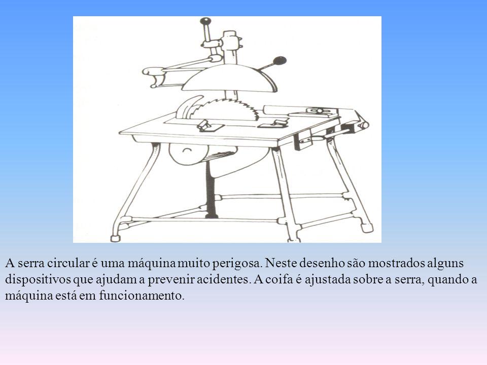 DISPOSITIVOS DE ACIONAMENTO E PARADA Ligar acidentalmente uma máquina pode causar um acidente quando o acionamento ocorrer no momento em que o operado