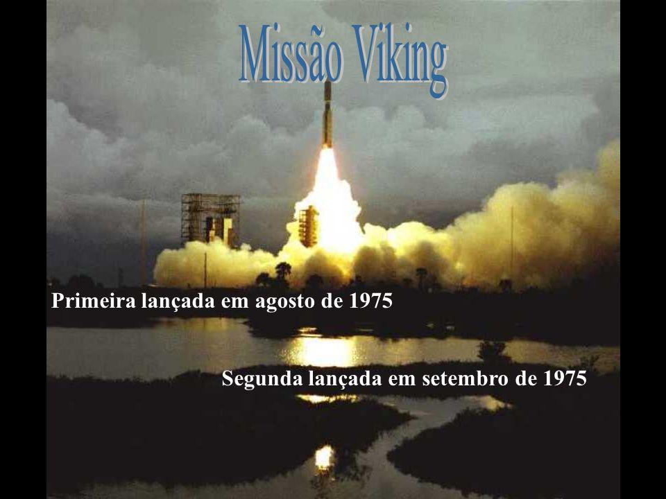 Primeira lançada em agosto de 1975 Segunda lançada em setembro de 1975