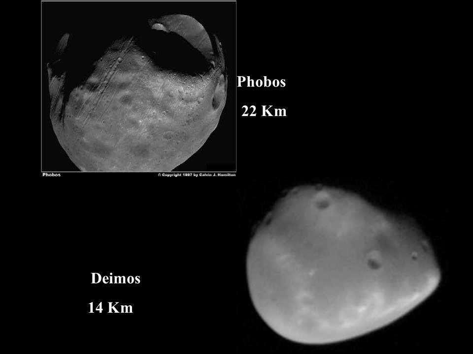 Phobos Deimos 22 Km 14 Km