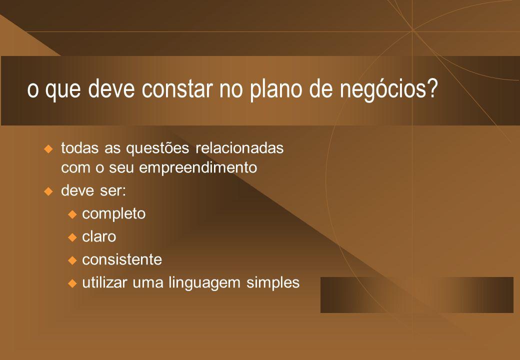 o plano de negócios pode ser utilizado como...