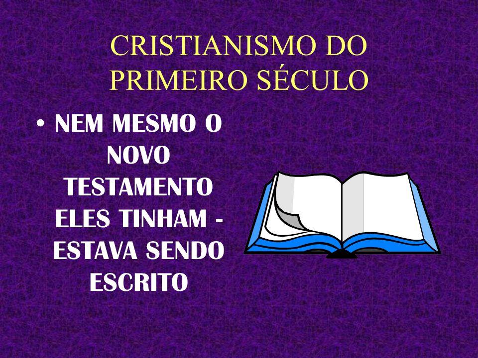 CRISTIANISMO DO PRIMEIRO SÉCULO CORAIS EQUIPES DE LOUVOR SISTEMA DE SOM