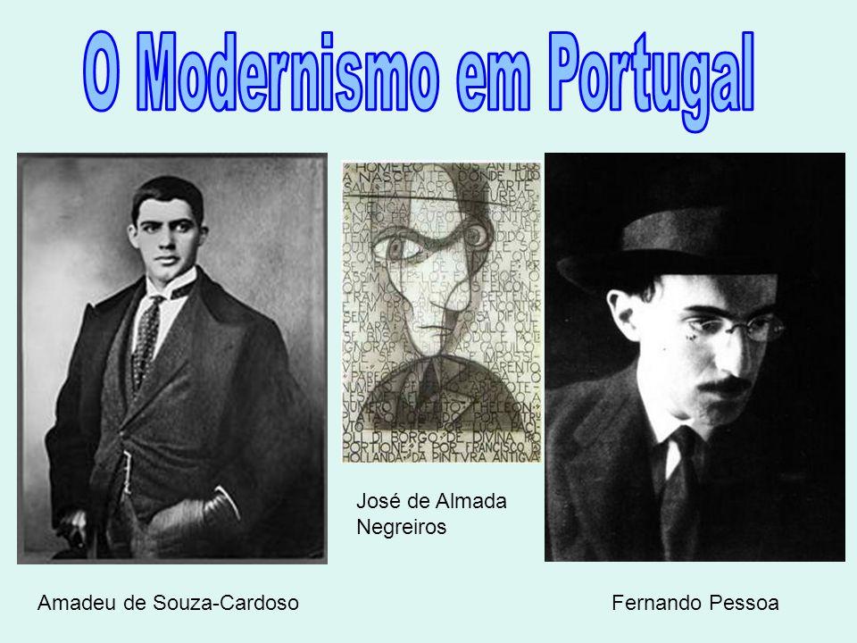 Amadeu de Souza-Cardoso José de Almada Negreiros Fernando Pessoa