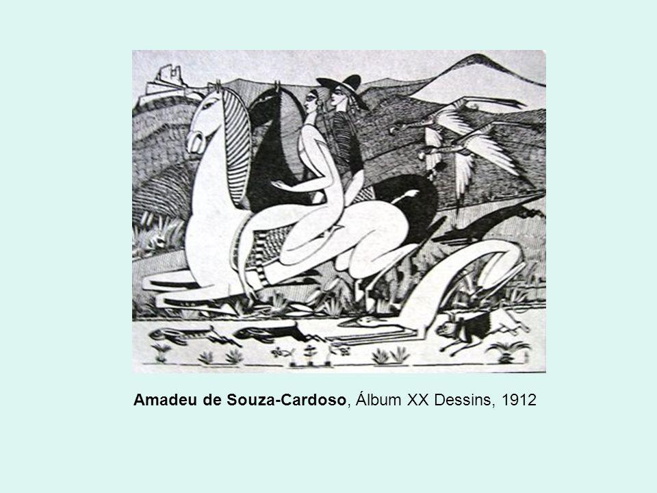 Amadeu de Souza-Cardoso, Álbum XX Dessins, 1912