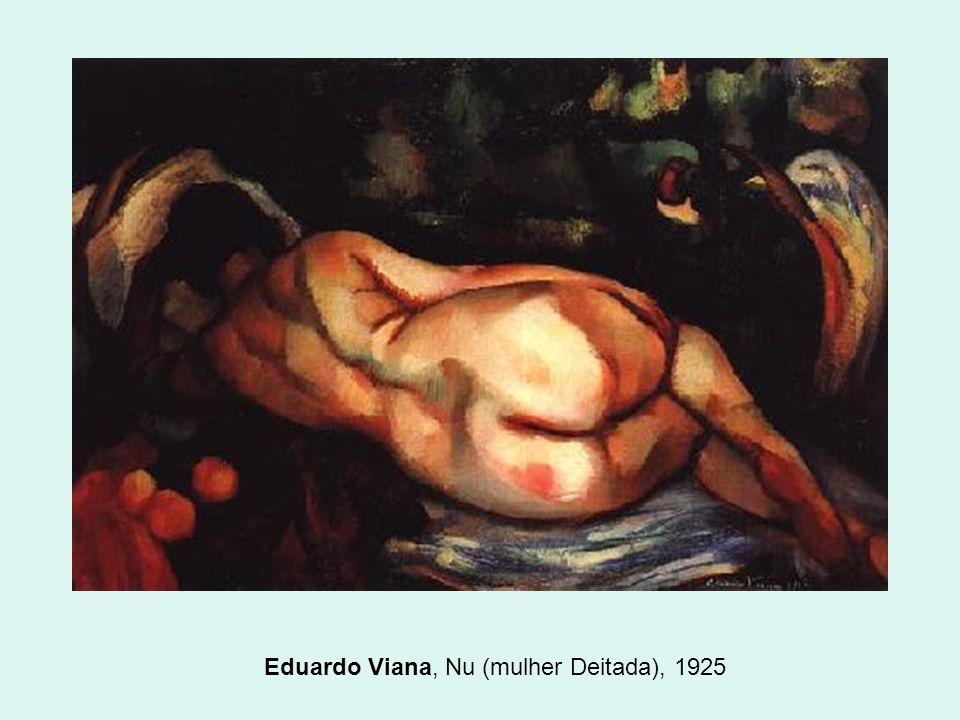 Eduardo Viana, Nu (mulher Deitada), 1925
