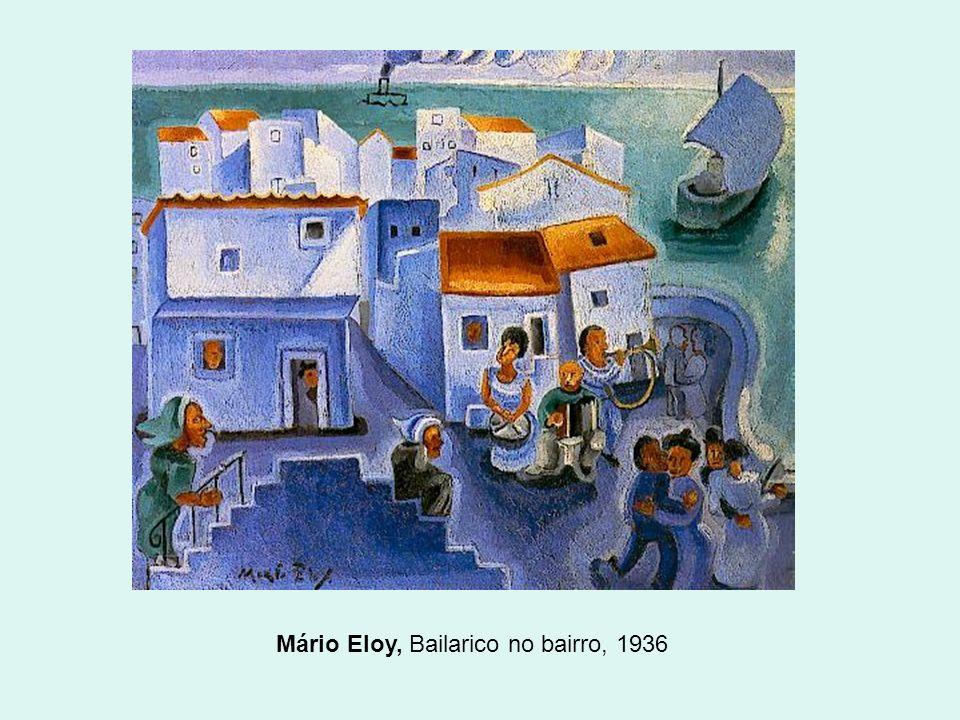Mário Eloy, Bailarico no bairro, 1936