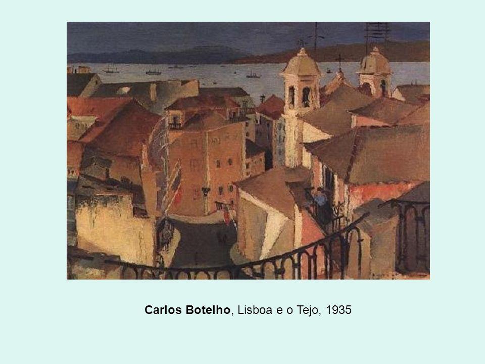 Carlos Botelho, Lisboa e o Tejo, 1935