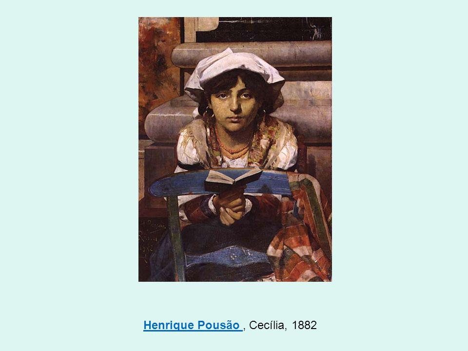 Henrique Pousão Henrique Pousão, Cecília, 1882