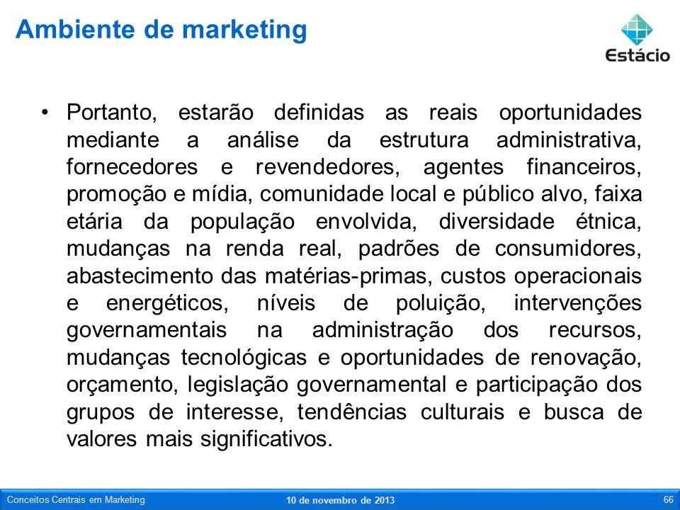 Portanto, estarão definidas as reais oportunidades mediante a análise da estrutura administrativa, fornecedores e revendedores, agentes financeiros, p
