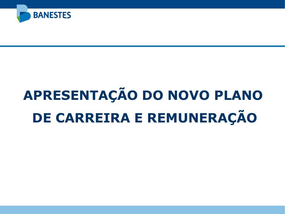 APRESENTAÇÃO DO NOVO PLANO DE CARREIRA E REMUNERAÇÃO