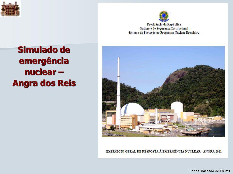 Carlos Machado de Freitas Simulado de emergência nuclear – Angra dos Reis