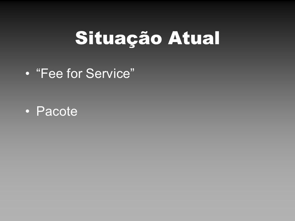Fee for Service Taxímetro