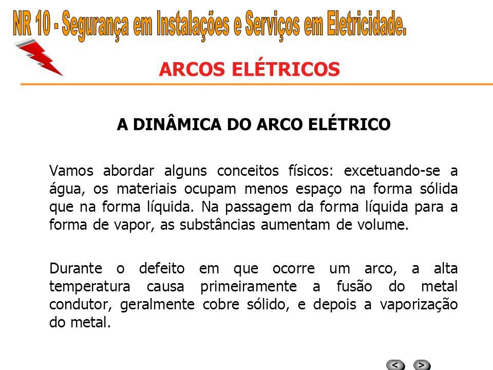 > > < < ARCOS ELÉTRICOS CONCEITUAÇÃO O arco elétrico é em resumo, a passagem de corrente elétrica, de um para outro ponto condutor, num meio gasoso e