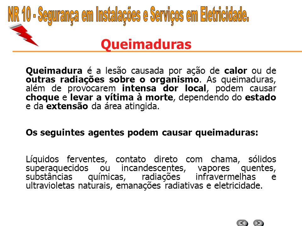 > > < < ARCOS ELÉTRICOS A OCORRÊNCIA DE ARCOS ELÉTRICOS Registram-se como mais freqüentes as seguintes: a) a) Ocorrência de curto-circuito; b) b) Oper