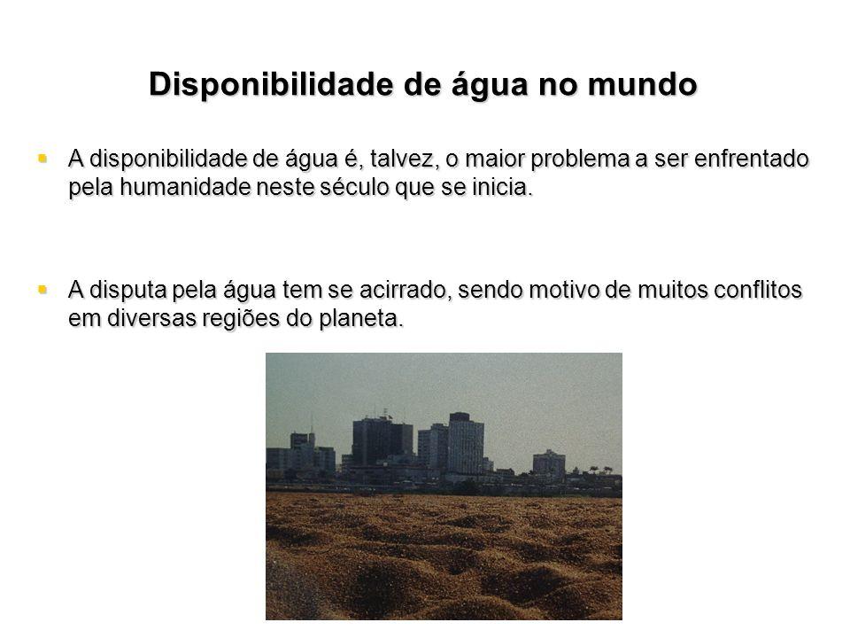 QUALIDADE DAS ÁGUAS - IET A eutrofização dos corpos dágua é um dos grandes problemas de qualidade da água do país.