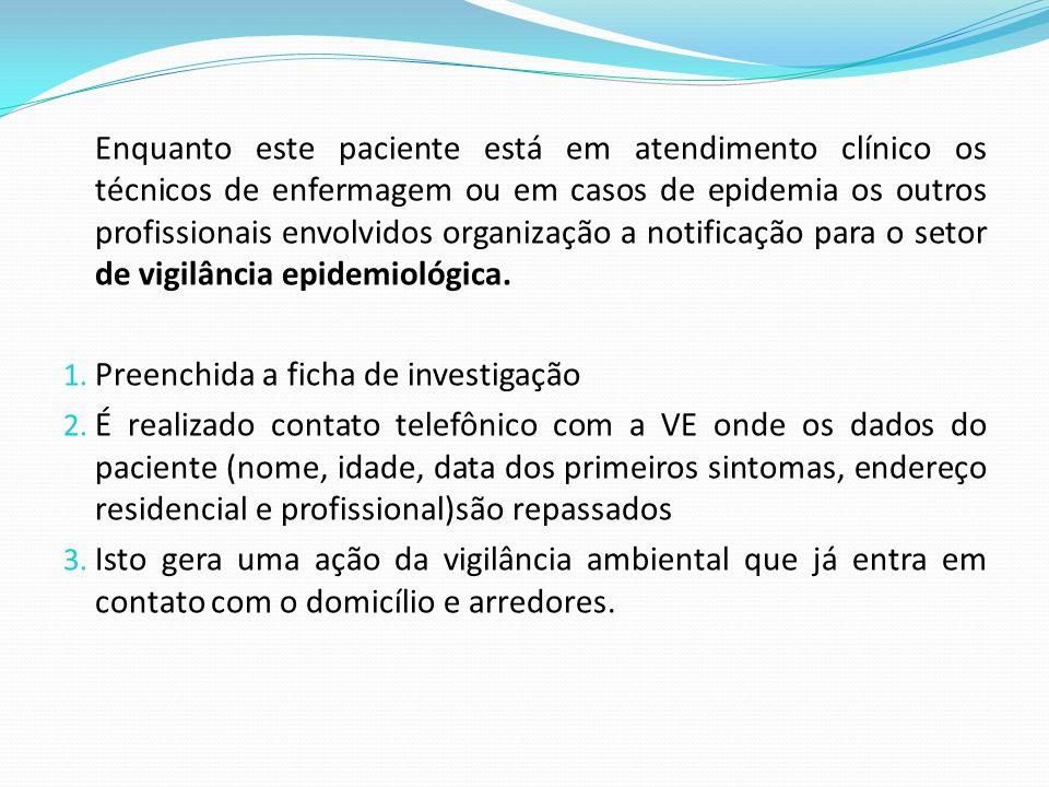 Enquanto este paciente está em atendimento clínico os técnicos de enfermagem ou em casos de epidemia os outros profissionais envolvidos organização a